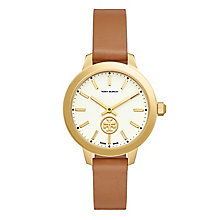 Tory Burch Collins Ladies' Gold Plated Strap Watch - Product number 5141818