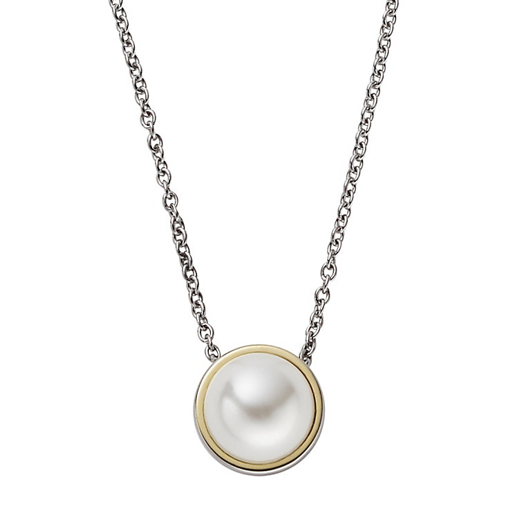 Skagen Agnethe Two Colour Faux Pearl Necklace - Product number 5141850