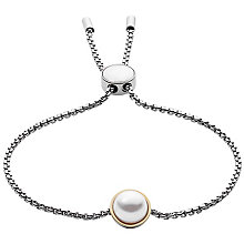 Skagen Agnethe Two Colour Faux Pearl Bracelet - Product number 5141877