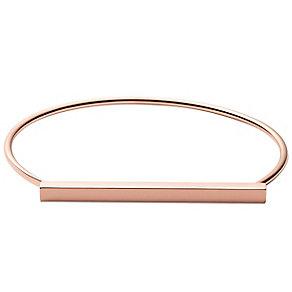 Skagen Anette Rose Gold Tone Bangle - Product number 5141923