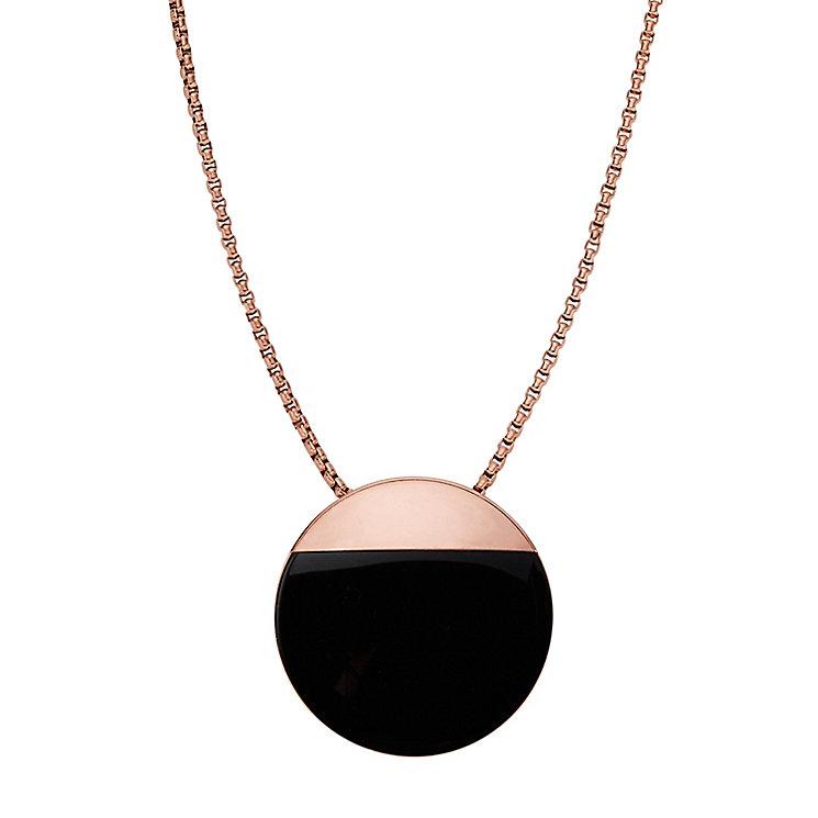 Skagen Elin Rose Gold Tone Pendant - Product number 5141982