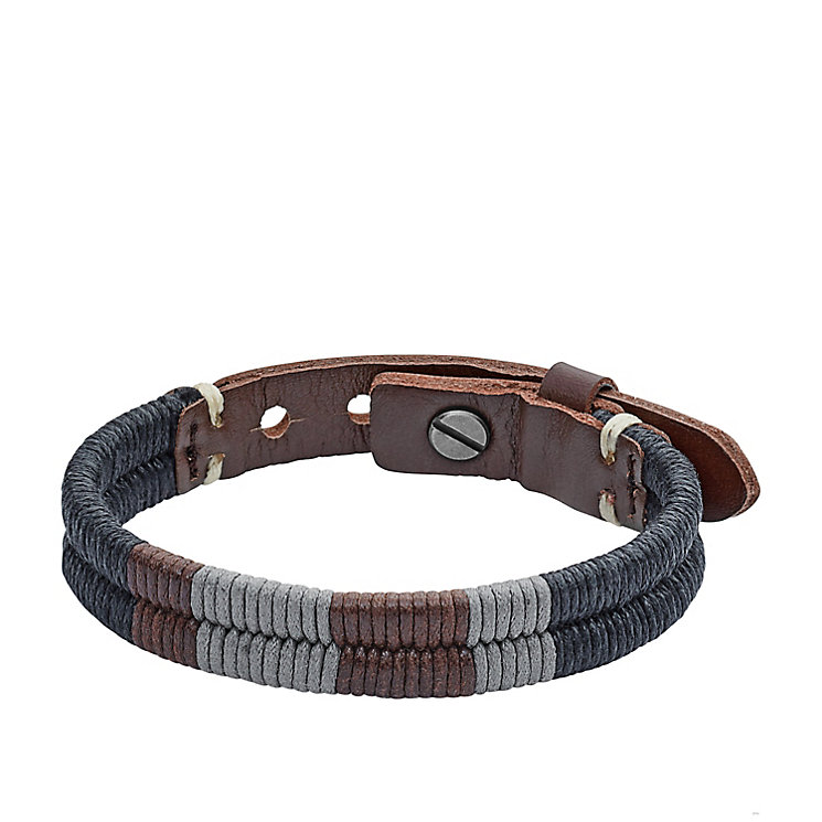 Fossil Men's Leather Bracelet - Product number 5142164