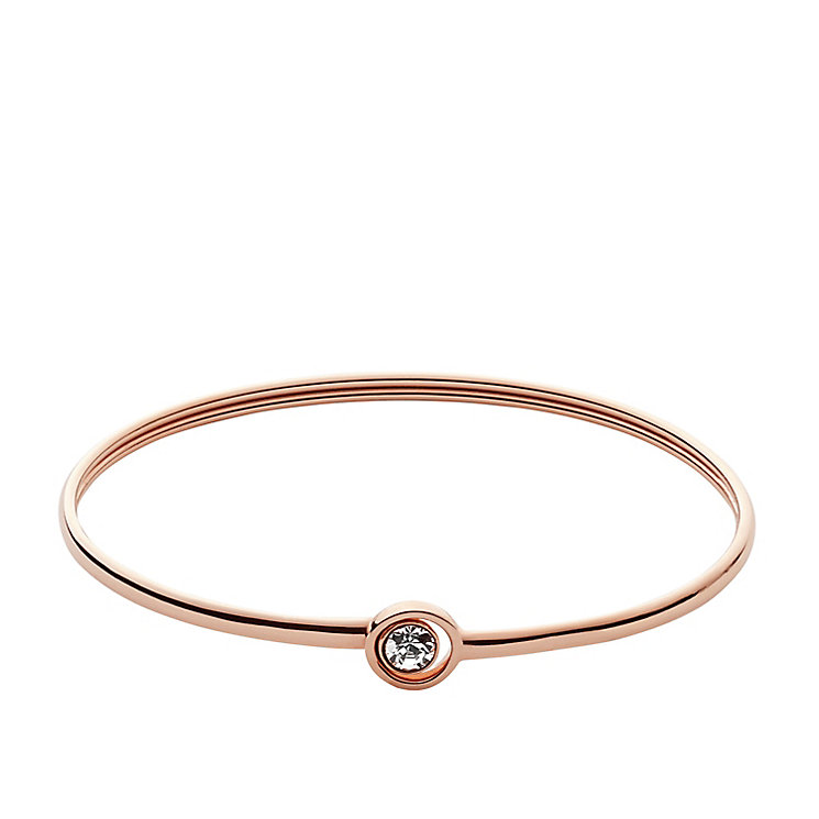 Fossil Rose Gold Tone Vintage Icon Bracelet - Product number 5142210