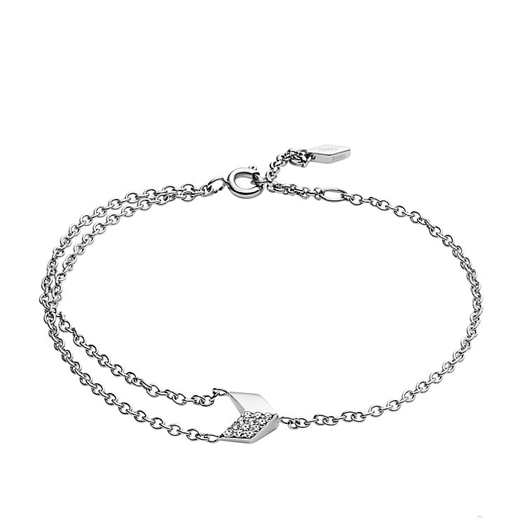 Fossil Stainless Steel Vintage Glitz Bracelet - Product number 5142237