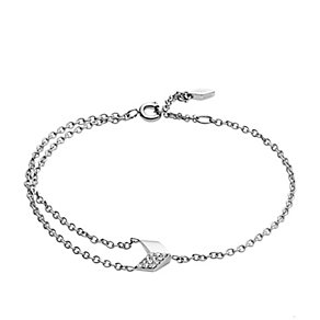 Fossil Stainless Steel Vintage Glitz Bracelet - Product number 5142237