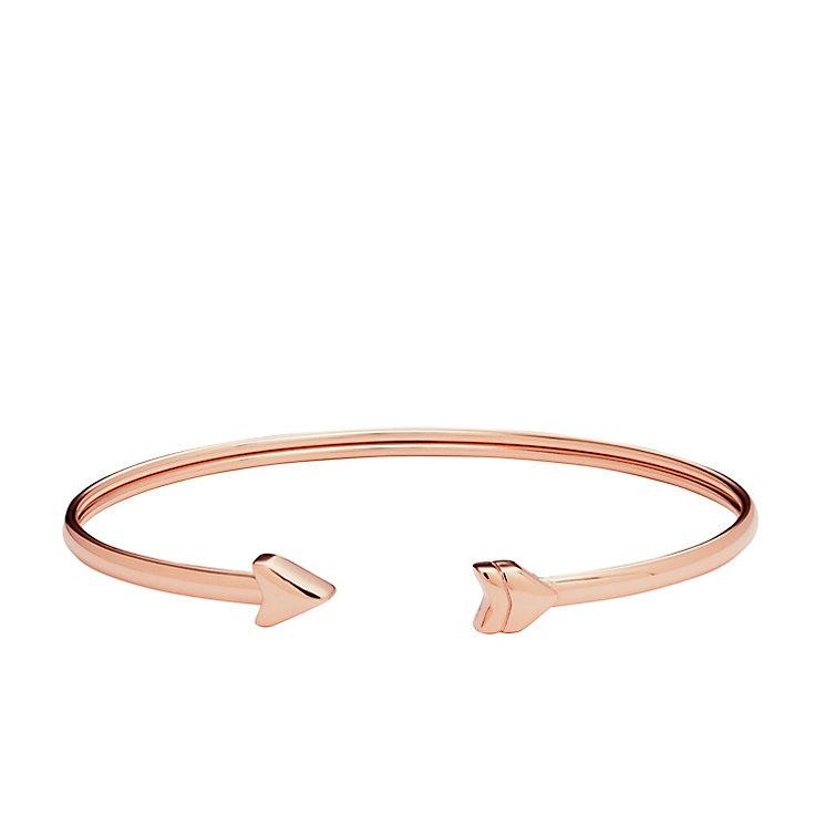 Fossil Rose Gold Tone Vintage Motif Bracelet - Product number 5142245