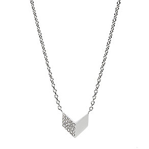 Fossil Stainless Steel Vintage Glitz Pendant - Product number 5142288