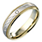 9ct Gold Diamond-cut Ring 5mm - Product number 5149568