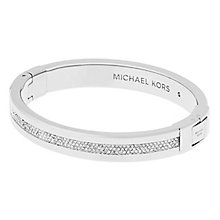 Michael Kors Ladies' Stainless Steel Stone Set bangle - Product number 5150671