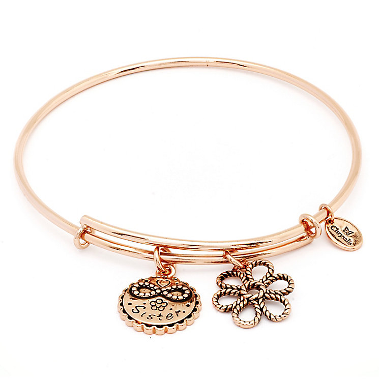 Chrysalis Rose Gold plated Sister Bangle - Product number 5156572