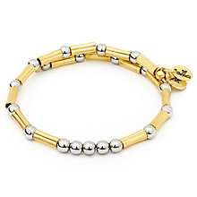 Chrysalis Gold plated Autumn Wrap Bracelet - Product number 5156696