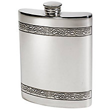 6oz Celtic Bands Hip Flask - Product number 5157919