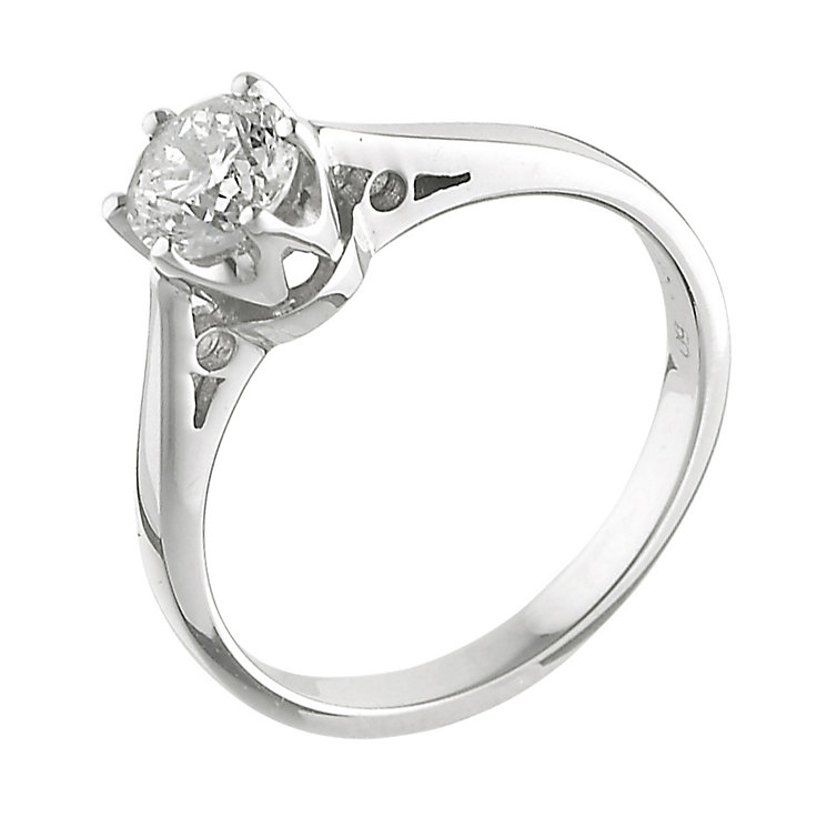 18ct White Gold Diamond Ring - Product number 5159695