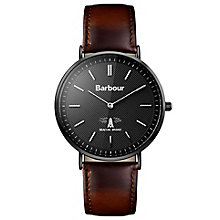 Barbour Men's Ion Plated Strap Watch - Product number 5162580