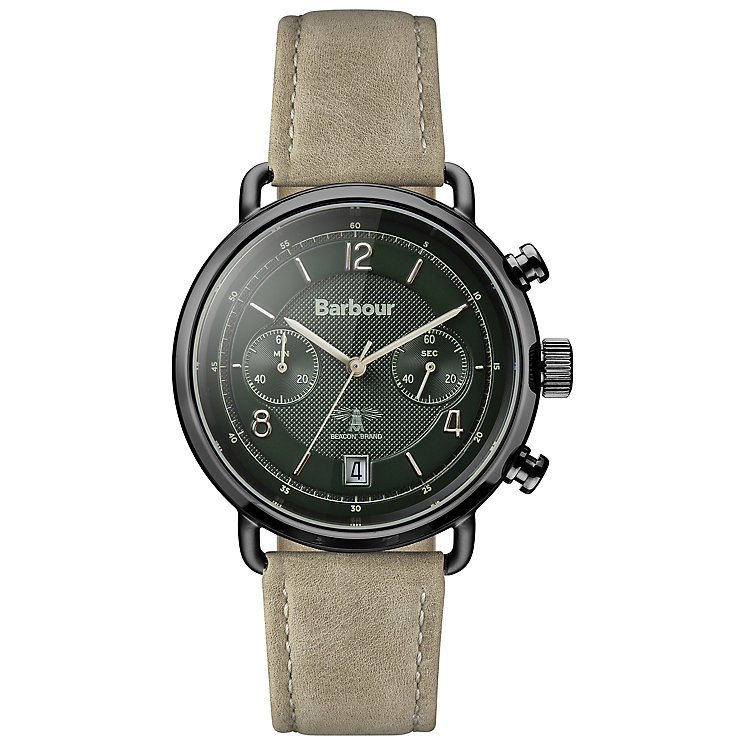 Barbour Men's Ion Plated Strap Watch - Product number 5162610