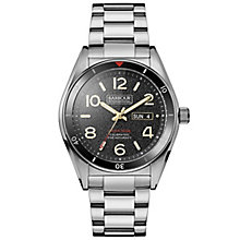 Barbour Men's Stainless Steel Bracelet Watch - Product number 5163196