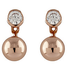 Buckley London Rose Gold-Plated Cubic Zirconia Ear Jackets - Product number 5163218