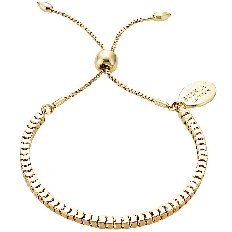 Buckley Yellow Gold Plated Bolo Bracelet - Product number 5164737