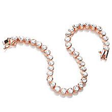 Buckley London Rose Gold-Plated Tennis Bracelet - Product number 5164745