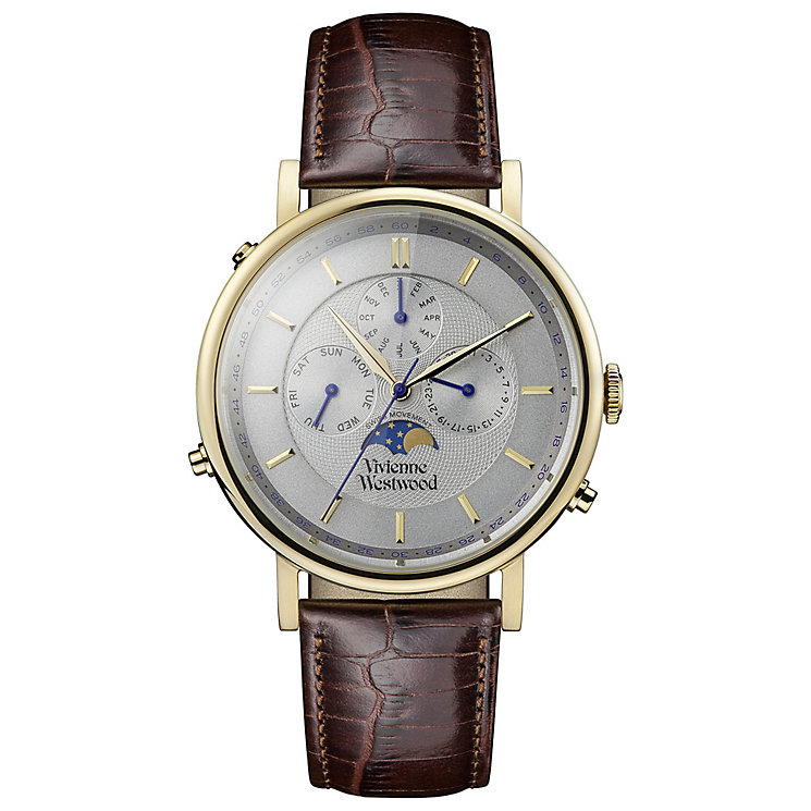 Vivienne Westwood Men's Gold tone Strap Watch - Product number 5168252