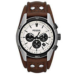 Fossil Men's Stainless Steel Strap Watch - Product number 5168317