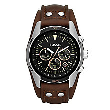 Fossil Men's Stainless Steel Strap Watch - Product number 5168325