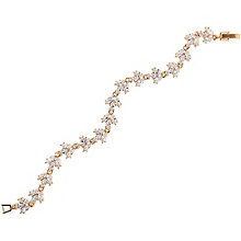 Mikey Rose Gold-Plated Flower Tennis Bracelet - Product number 5170753