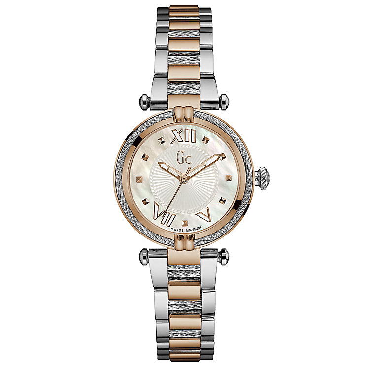 Gc Ladychic Ladies' Two Colour Bracelet Watch - Product number 5177731