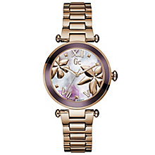 Gc Lady Chic Ladies' Rose Gold Plated Bracelet Watch - Product number 5177790