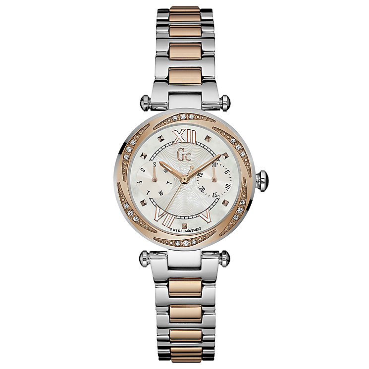 GC Chic Ladies' Two Colour Bracelet Watch - Product number 5177812