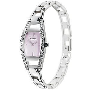 Accurist Ladies' Stone-set Bracelet Watch - Product number 5179661