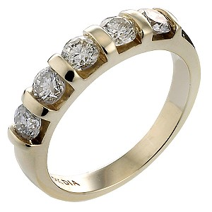 9ct Gold 3/4 Carat Eternity Ring