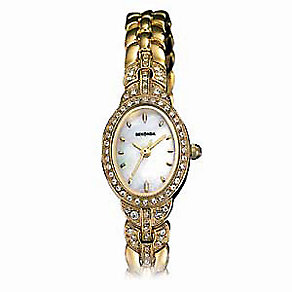 Sekonda Ladies' Gold-plated Mother-of-pearl Watch - Product number 5186641