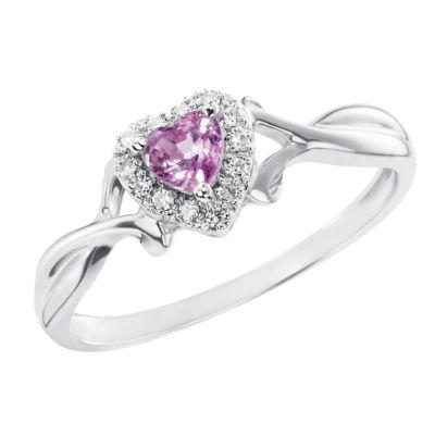 H Samuel  Stone Diamond Ring