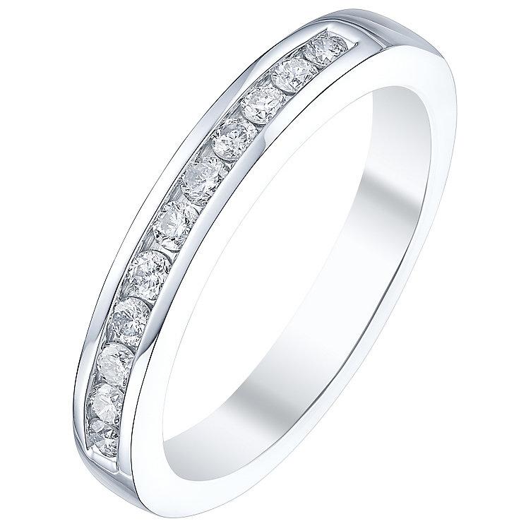 Platinum Ladies' 1/4 Carat Diamond Set Ring - Product number 5196124