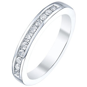 Platinum Ladies' 1/4 Carat Diamond Set Ring - Product number 5196124