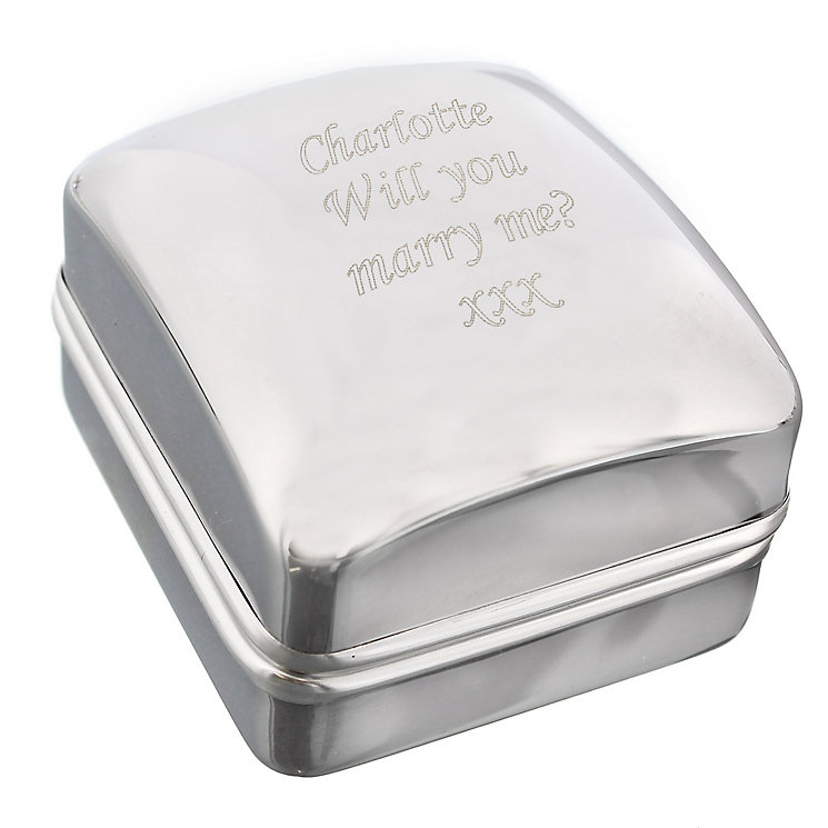 Personalised Ring Gift Box - Product number 5196310