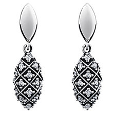 Chamilia Sterling Silver Alight Drop Earrings - Product number 5196469