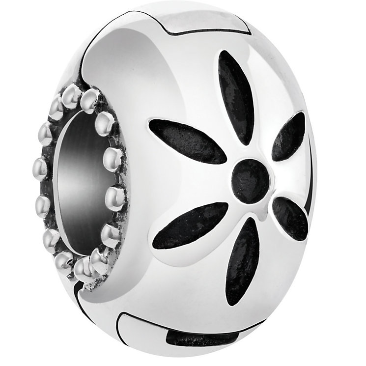 Chamilia Starburst Lock Sterling Silver bead - Product number 5196582