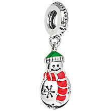 Chamilia Sterling Silver Cozy Snowman Charm - Product number 5196744