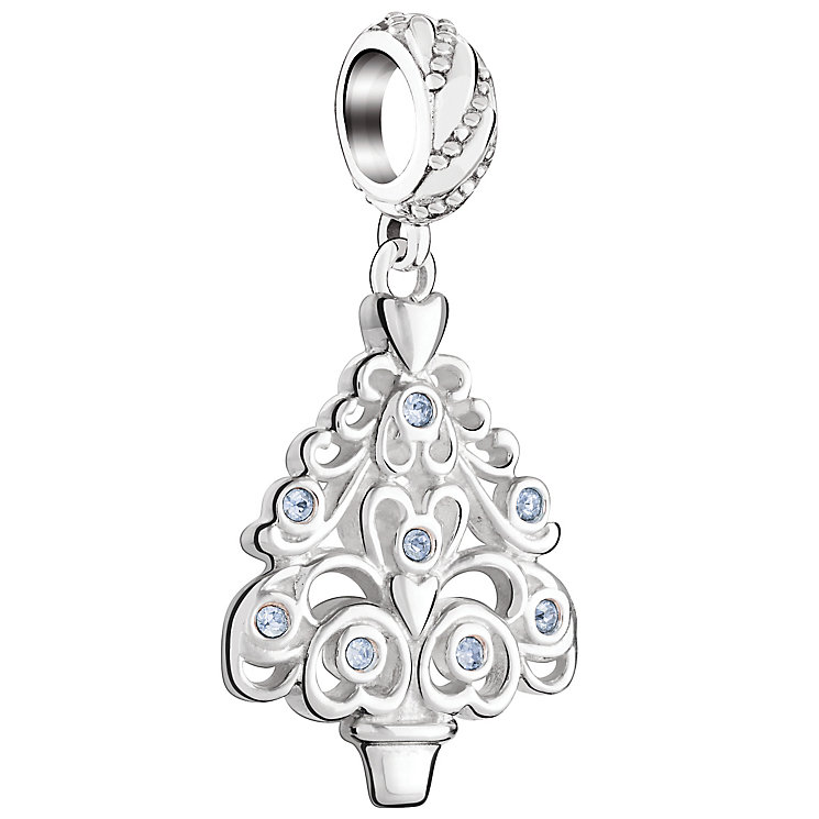 Chamilia Sterling Silver Ornamental Tree Charm - Product number 5197015