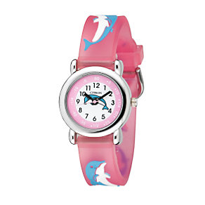 JK Henderson Child's Pink Dolphin Watch - Product number 5197031