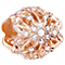Chamilia Rose Gold Electroplate Ornamental Snowflake Bead - Product number 5197082