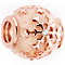 Chamilia Rose Gold Electroplated Snow Star Bead - Product number 5198518
