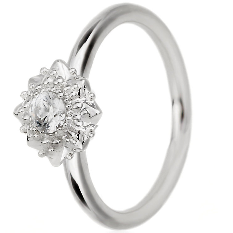 Chamilia Filigree Star Sterling Silver Ring Size Medium - Product number 5198615
