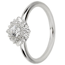 Chamilia Filigree Star Sterling Silver Ring Size Small - Product number 5198909