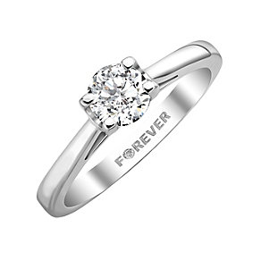 The Forever Diamond  - 18ct White Gold Diamond Ring - Product number 5203538