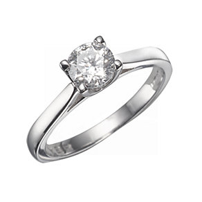 The Forever Diamond - 18ct White Gold 3/4 Carat Diamond Ring - Product number 5203902