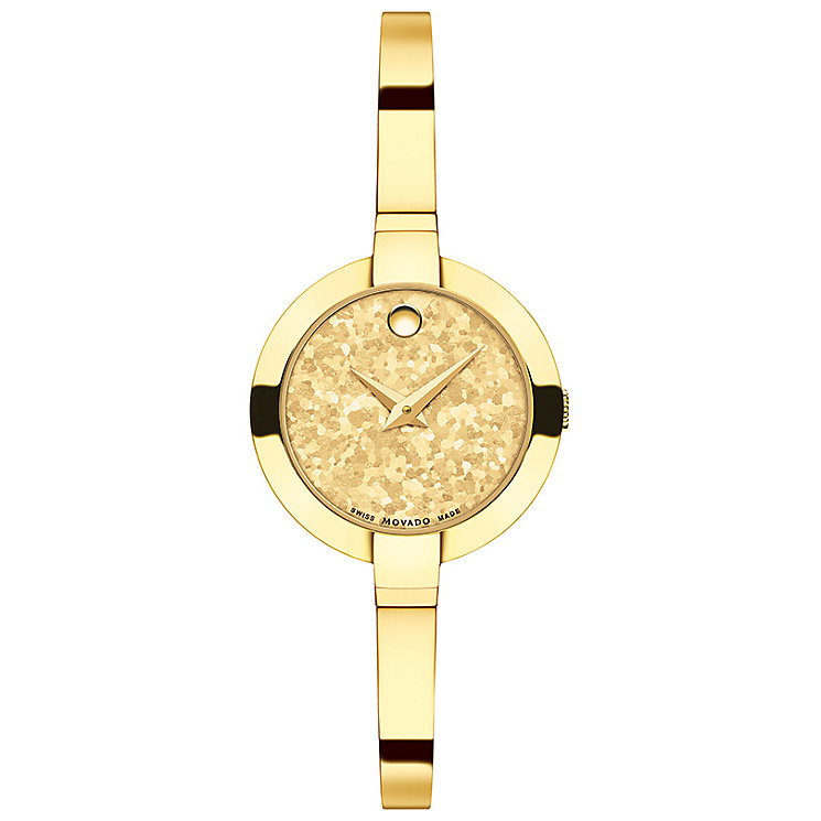 Movado Bella Ladies' Gold Tone Bracelet Watch - Product number 5204747