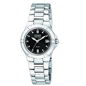 Citizen Eco-Drive Ladies' Stainless Steel Bracelet Watch - Product number 5210232
